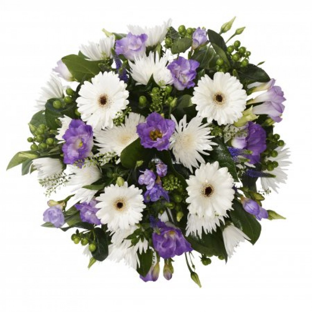 Funeral Posy Forget Me Not Flowers