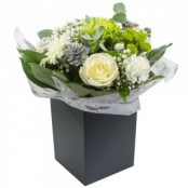 Frosty Mornings Hand Tied Bouquet